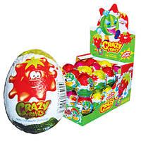 Шоколадное яйцо Крейзи Фрутс Crazy Fruits 25 гр.