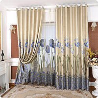 3D шторы в гостиную