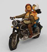 Колекційна статуетка Мотоцикл Forchino, ручна робота FO 85070, фото 1