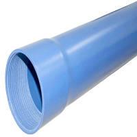 ВАЛРОМ УКРАИНА Труба ПВХ 5,0 м, для скважин, R 10, 125x6,0 мм