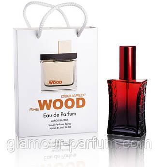 DSquared2 She Wood (Дискваред Ши Вуд) в подарочной упаковке 50 мл. (реплика) ОПТ