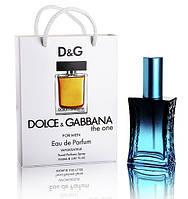 Dolce & Gabbana The One Men (Дольче И Габбана Зе Ван Мен) в подарочной упаковке 50 мл