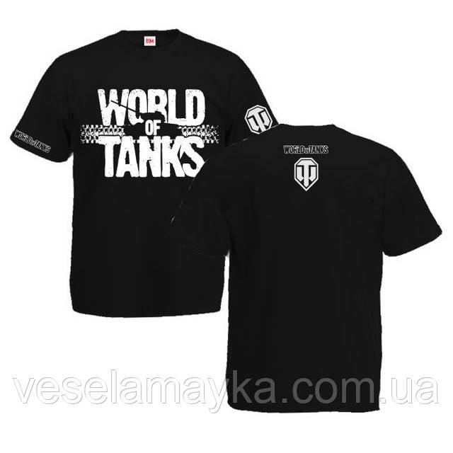 "Футболка ""World of tanks 3 (Мир танков)"""