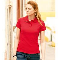 Женская футболка поло  LADY-FIT