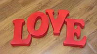 Набор букв LOVE, 30 см