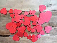 Набор сердечек для свадебной фотосесии