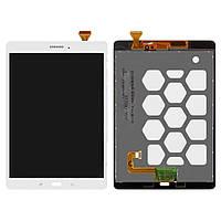 """Дисплейный модуль (дисплей + сенсор) для Samsung Galaxy Tab A 9.7"""" T550 / T555, оригинал, белый"""