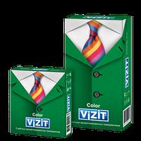 Презервативы VIZIT Color Цветные ароматизированные
