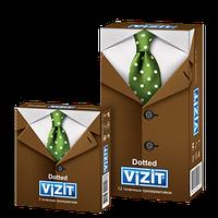Презервативы VIZIT Dotted Точечные