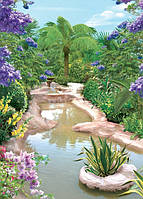 Фотообои   Восточный сад размер 140 х 196 см