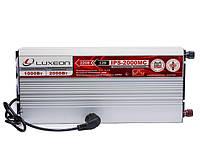 Інвертор 12/220 (перетворювач напруги) Luxeon IPS-2000MC + зарядний пристрій, фото 1