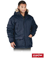 Куртка утепленная с капюшоном рабочая Reis Польша (зимняя рабочая одежда) GROHOL G