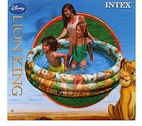"""Надувной детский бассейн """"Король лев"""" Intex 58420"""