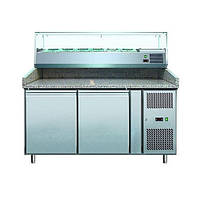 Стол холодильный для пиццы COOLEQ PZ 2600TN-VRX 1500/380