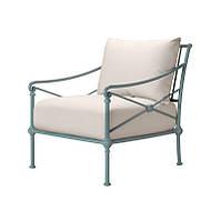 Кресло лаунжевое из алюминия