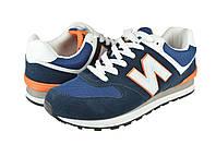 Мужские кроссовки для ходьбы и бега inblu 16-1rсин синие   весенние