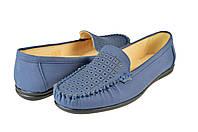 Женские туфли на ортопедической стельке inblu sv-1rсин синие   летние , фото 1
