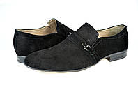 Мужские модельные туфли prime 493.8вел.ч синие   весенние