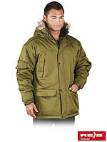 Куртка зимняяя с капюшоном рабочая Reis Польша  (утепленная спецодежда) GROHOL O
