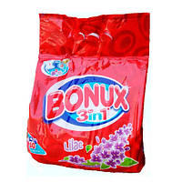 BONUX 3 in 1 lilac Стиральный порошок (40 стирок) 2800 кг