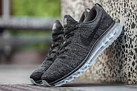 "Nike Air Max Flyknit ""Black-Dark Grey"""