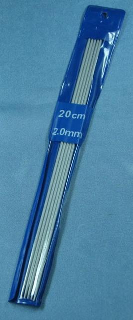 Чулочные спицы №2  20 см тефлон BIS-СЧ-2 /04-0