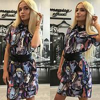 Женское платье-рубашка с-4015