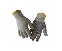 Перчатки Werk WE2102 (х/б с резиновым вкраплением, белые)