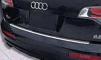 Накладка на бампер с загибом AUDI Q7 (2006-2009)
