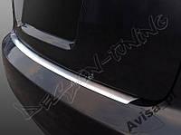 Накладка на бампер с загибом AUDI A4 B7 (2004-2008)