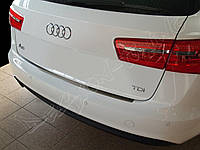 Накладка на бампер с загибом AUDI A6 (2011-...)