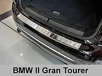 Накладка на бампер с загибом BMW 2 Gran Tourer (2015-...)