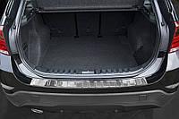 Накладка на бампер с загибом BMW X1 E84 (2012-...)