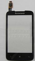 Оригинальный тачскрин / сенсор (сенсорное стекло) для Lenovo A376 (черный цвет)