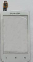 Оригинальный тачскрин / сенсор (сенсорное стекло) для Lenovo A376 (белый цвет)