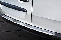 Накладка на бампер с загибом Mercedes Citan, Renault Kangoo Express (2012-...)