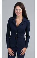 Трикотажный женский пиджак