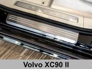 Накладки на пороги Volvo XC90 II (2015-...)