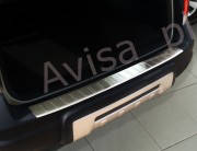 Накладка на бампер с загибом Volvo XC70