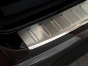 Накладка на бампер с загибом Volkswagen CC (2012-...)