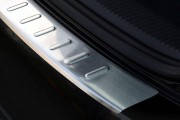 Накладка на бампер с загибом Volkswagen Golf V Plus (2005-2009)
