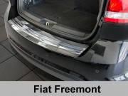 Накладка на бампер с загибом Fiat Freemont (2011-...)