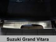 Накладка на бампер с загибом Suzuki Grand Vitara (2006-...)
