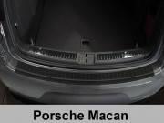 Накладка на бампер с загибом Porsche Macan (2013-...)