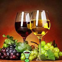Алмазная вышивка Два бокала вина KLN 25 х 20 см (арт. FR142), фото 1
