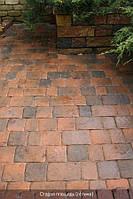 Старая площадь 40мм цвет - латина (красно-коричневый прокрас)