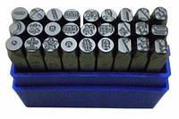 Большой набор для чеканки символов BassPolska 6 мм (30) 1580