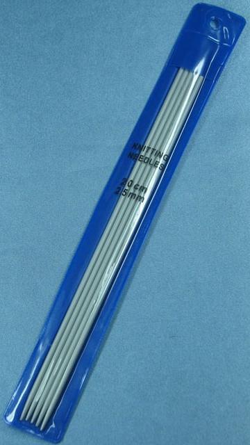 Чулочные спицы №2.5  20 см тефлон BIS-СЧ-2.5 /04-0