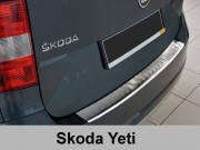 Накладка на бампер с загибом Skoda Yeti Adventure / Outdoor (2013-...)
