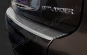 Накладка на бампер с загибом Mitsubishi Outlander (2005-2012)